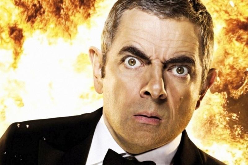 Hình ảnh Rowan Atkinson trong phim hài gần đây - Johnny English