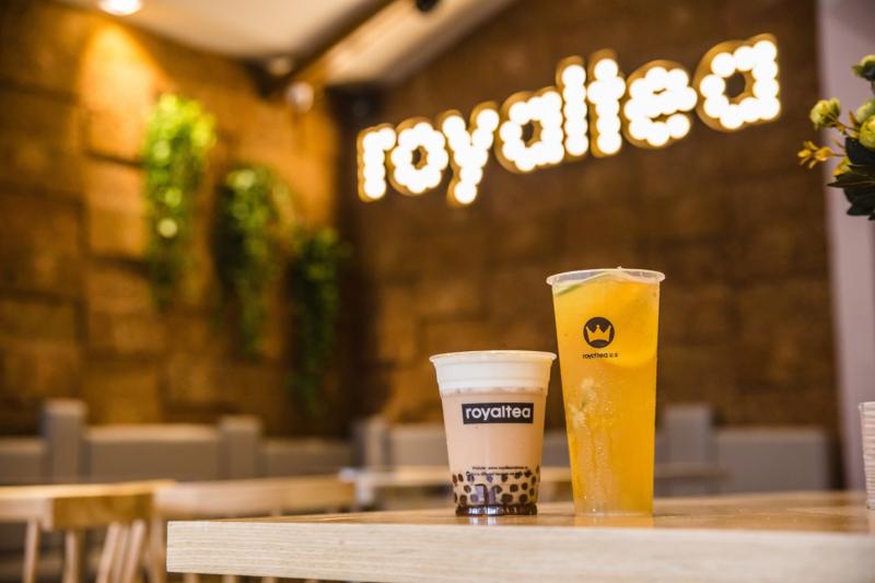 . Hương vị của Royal Tea hợp với khẩu vị của thực khách Việt