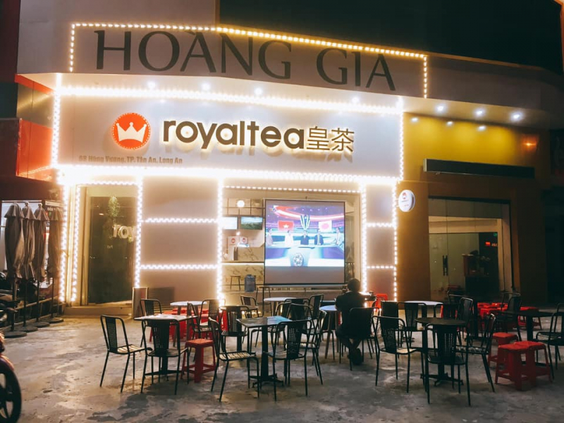 Royaltea Long An