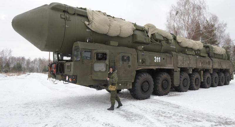 Tên lửa RS-24 Yars của Nga.