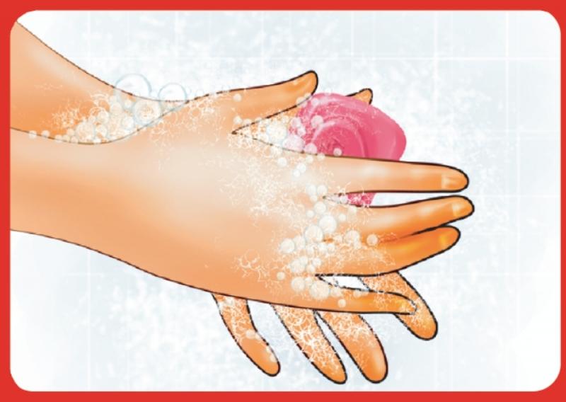 Rửa tay thường xuyên giúp bạn chống được vi khuẩn gây bệnh