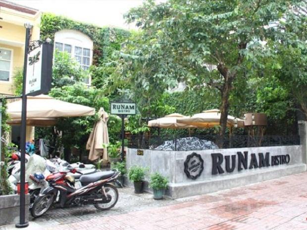 RuNam Bistro - nhà hàng và cafe với không gian ngoài trời thoáng mát, thoải mái