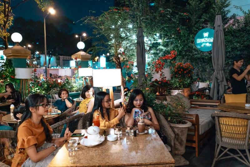 Top 15 quán cà phê sân vườn nổi tiếng ở Sài Gòn