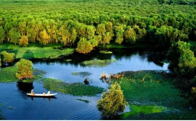 Khu du lịch sinh thái rừng Tràm Trà Sư