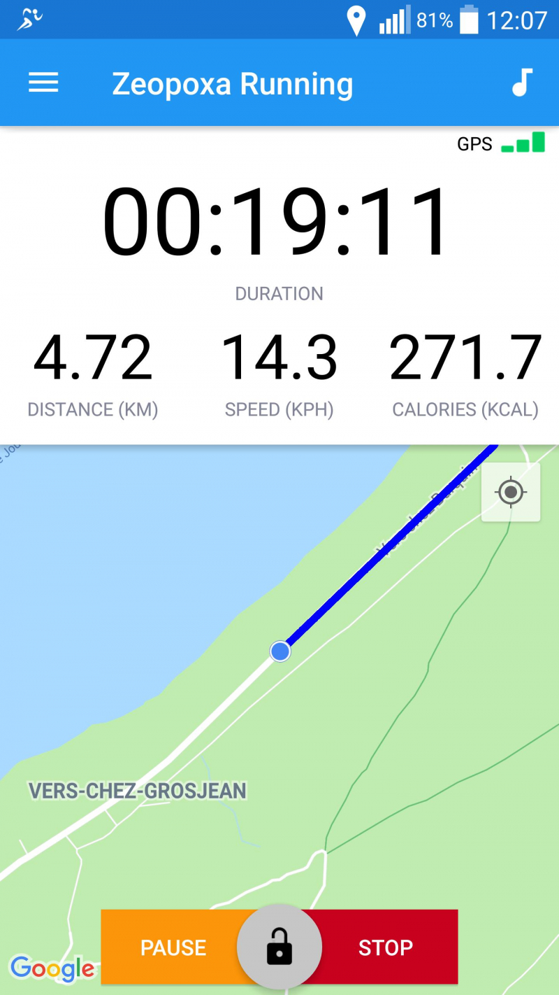 Ứng dụng tập luyện Running & Jogging