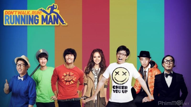 Running Man- chương trình thực tế nổi tiếng toàn cầu.