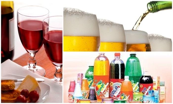 Rượu, bia, nước ngọt cho bố mẹ khiến ngày Tết trở nên ấm cúng hơn
