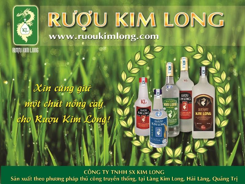 Rượu Kim Long là tên gọi một loại rượu có nguồn gốc từ làng Kim Long,
