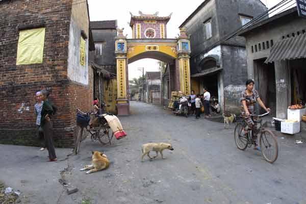 Cổng làng Vân