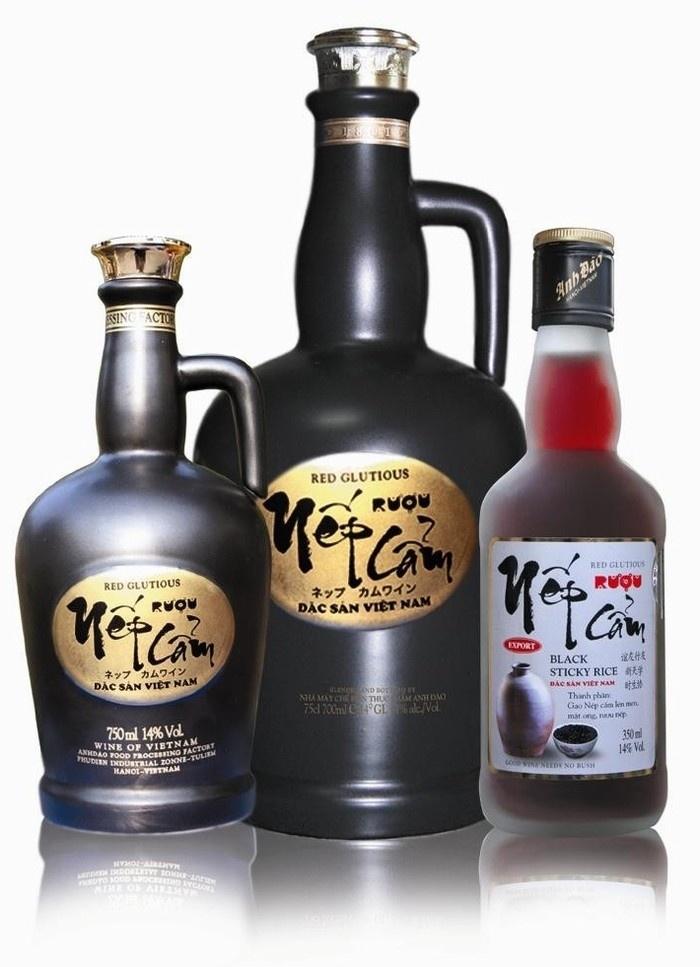 Rượu Tết - rượu nếp cẩm được xuất khẩu sang thị trường Nhật