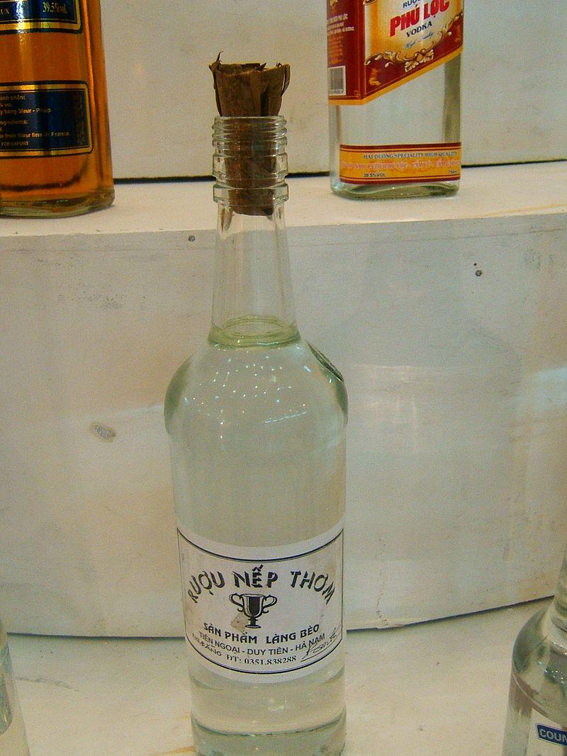 Rượu nếp thơm đặc trưng cho ngày Tết âm lịch ở Bắc Bộ