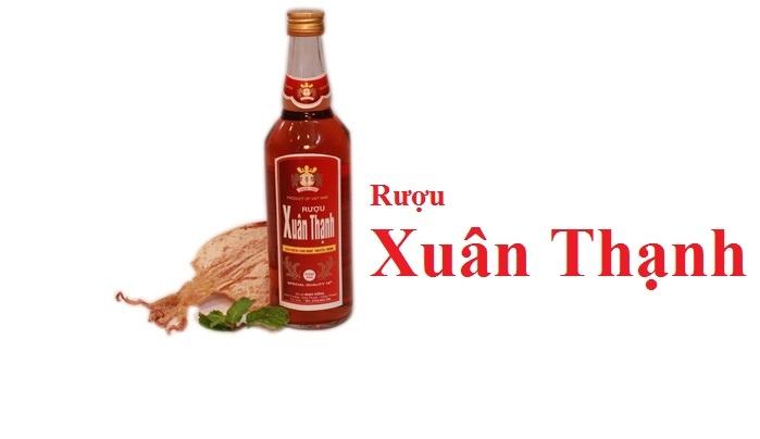 Rượu Xuân Thạnh là một trong những thương hiệu rượu truyền thống nổi tiếng nhất ở Việt Nam