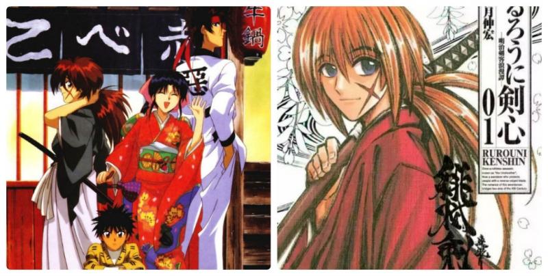 Truyện Rurouni Kenshin.