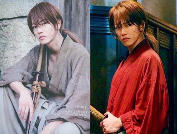 Nam chính Sato Takeru cực ngầu trong Rurouni Kenshin.