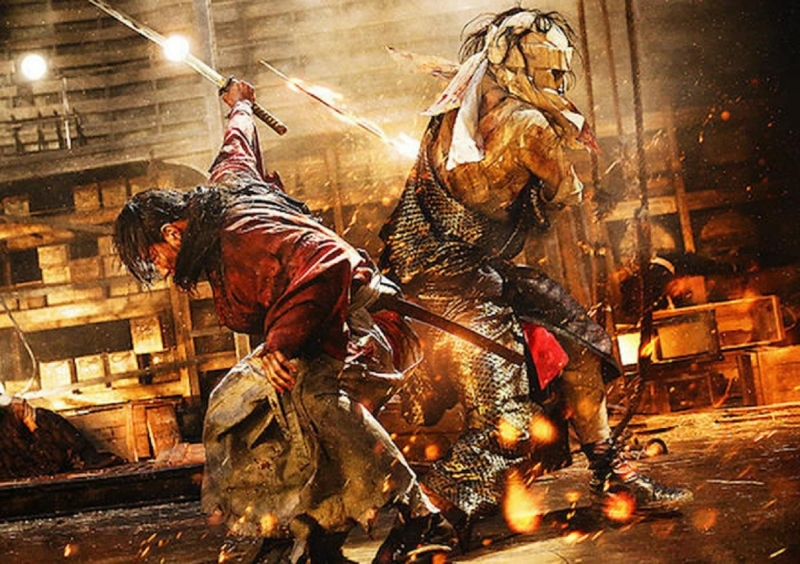 Rurouni Kenshin: The Legend Ends.