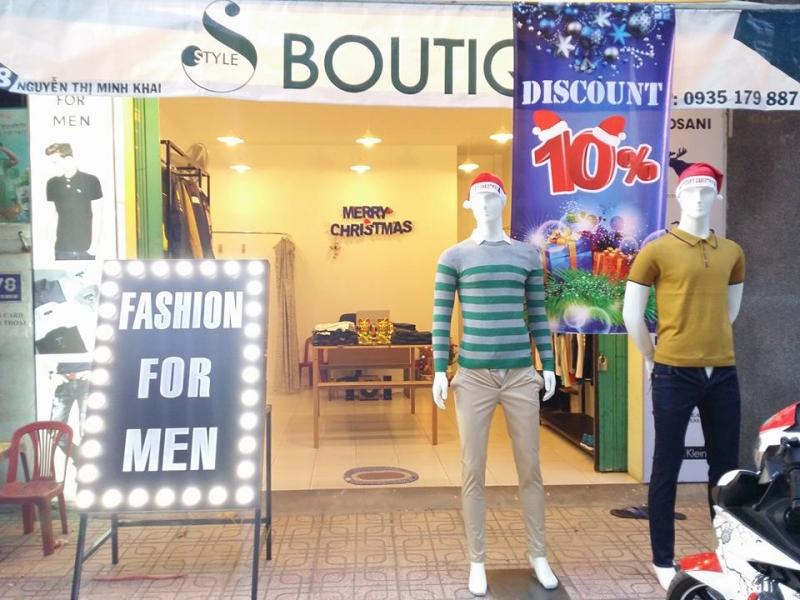 Mặt tiền S Boutique