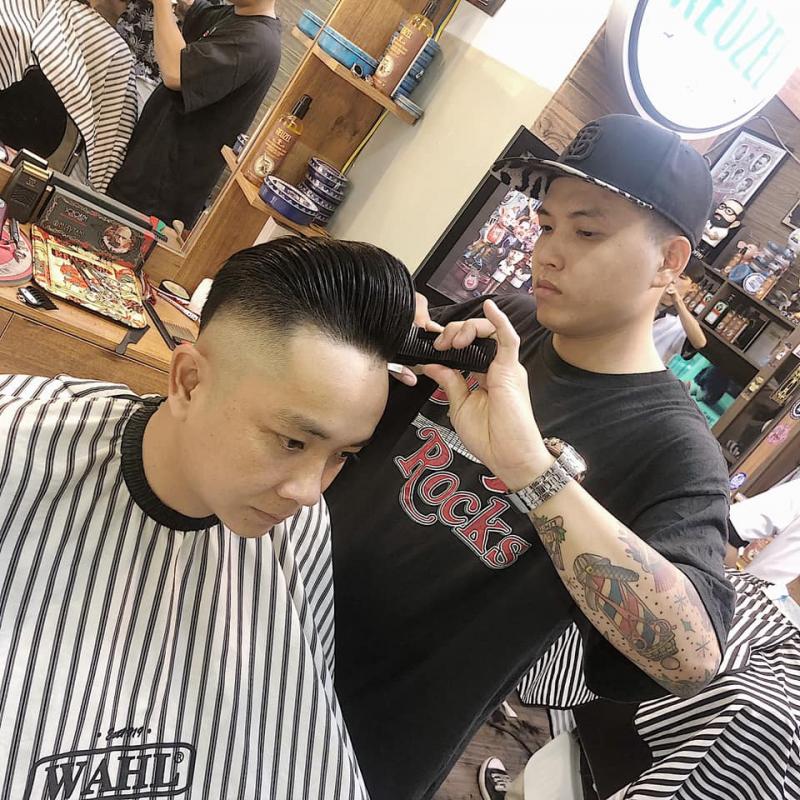 Những mẫu tóc được yêu thích tại Sang Barber Shop