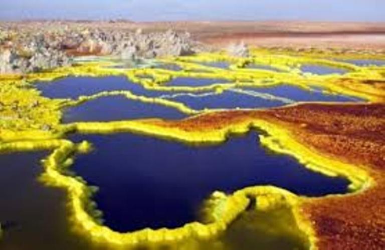 Sa mạc Danakil, Ethiopia