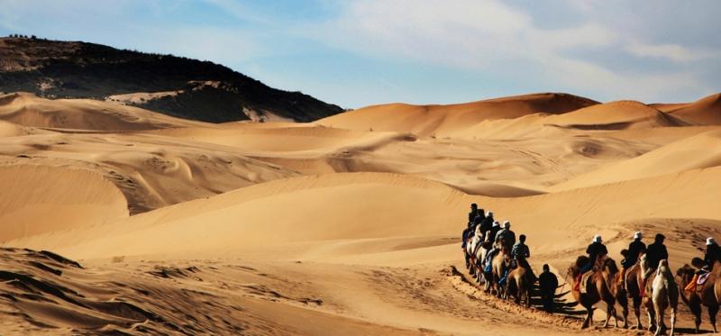 Sa mạc Gobi - trái tim Mông Cổ