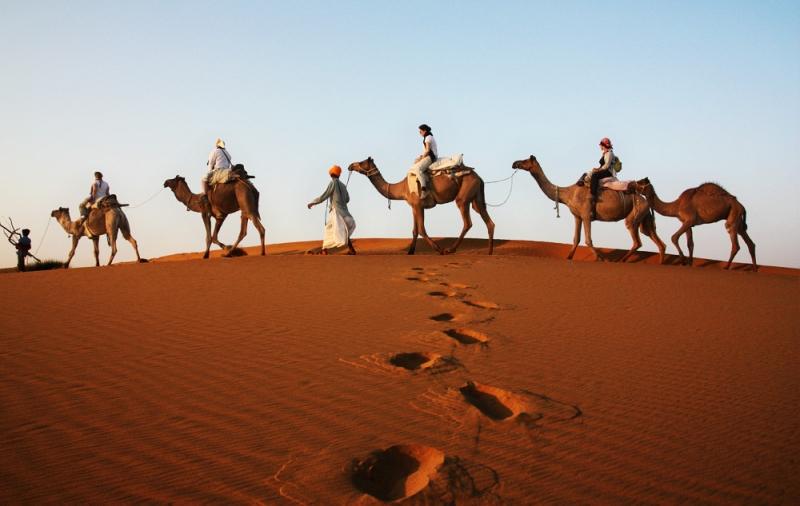Sa mạc Thar được nhiều du khách quốc tế gọi với cái tên