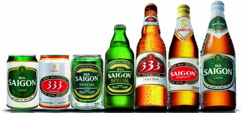Các sản phẩm của Sabeco