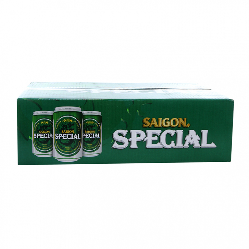 Sabeco Saigon Special Lager Beer (Việt Nam, Thùng 24 Lon 330ml)