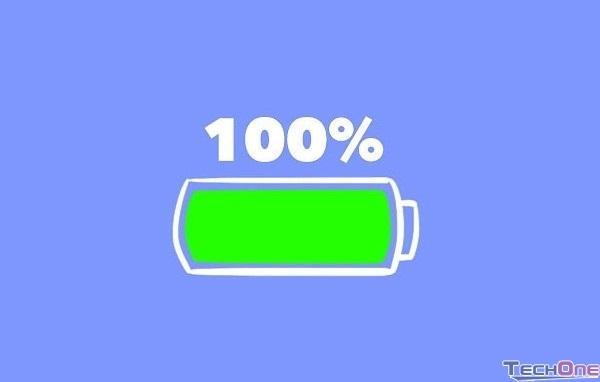 Sạc đầy 100% pin