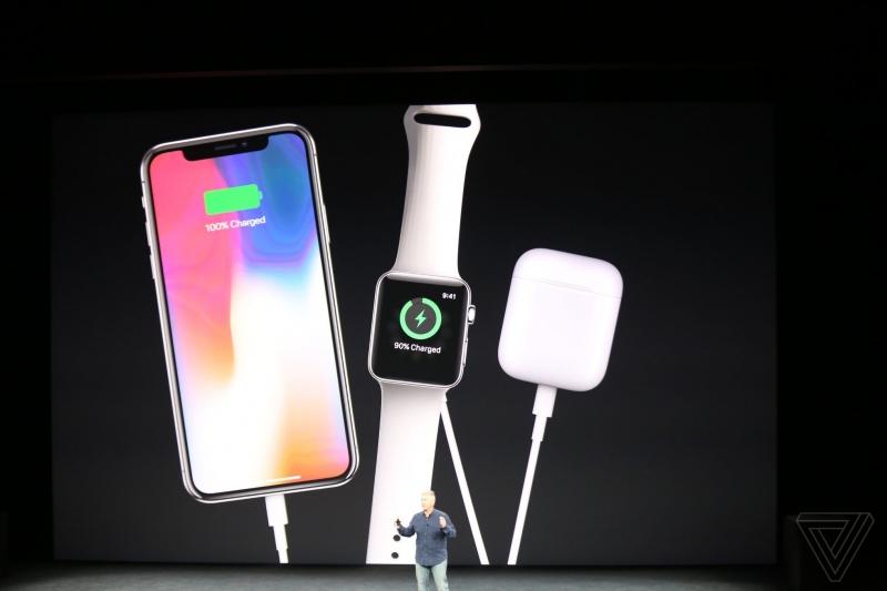 Phone X đã tích hợp công nghệ sạc không dây.