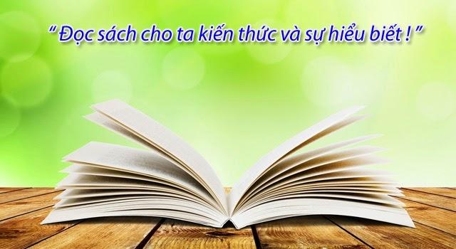 Sách là một người thầy tuyệt vời
