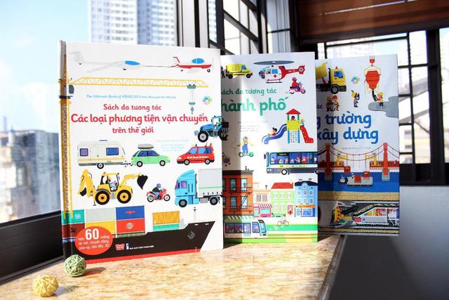 Sách đa tương tác giúp trẻ yêu thích việc đọc sách hơn