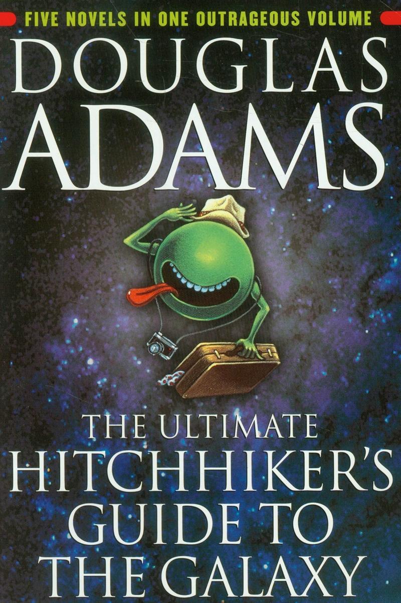 Sách hướng dẫn dành cho người đi nhờ tàu vũ trụ (The Hitchhiker Guide to the Galaxy) – Douglas Adam (1979)