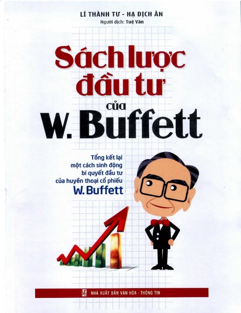 Cuốn sách Sách lược đầu tư của W. Buffelt
