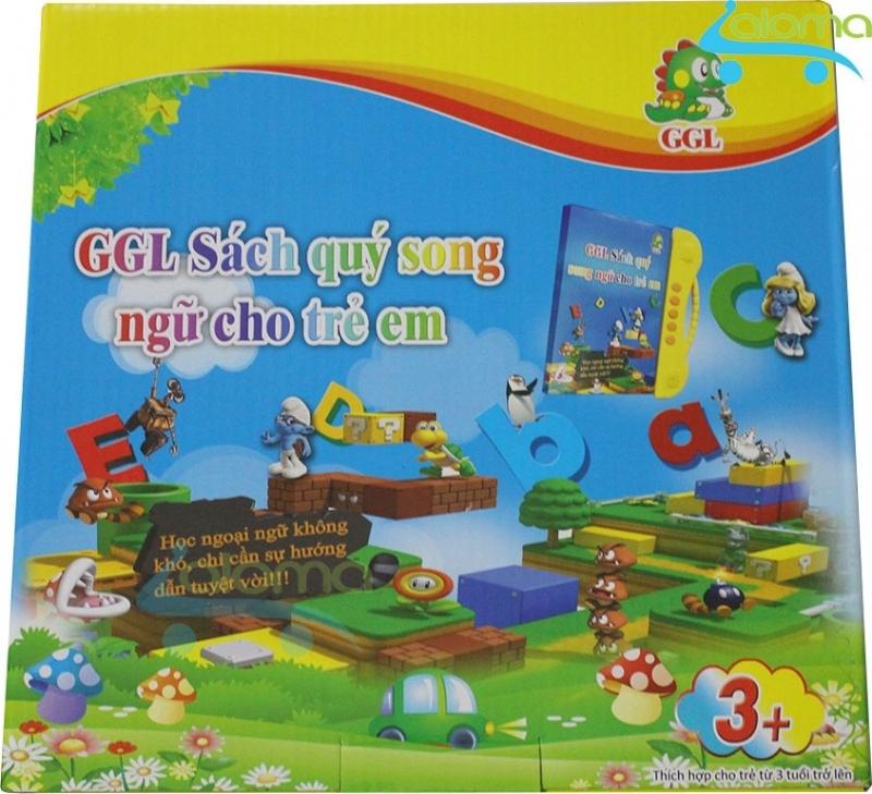 Sản phẩm Sách nói điện tử song ngữ Anh Việt đọc hát kể chuyện GGL SN với 24 trang sách điện tử trình bầy đẹp mắt, vui nhộn