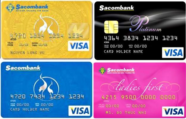 Sacombank có nhiều lựa chọn phong phú để mở thẻ tín dụng