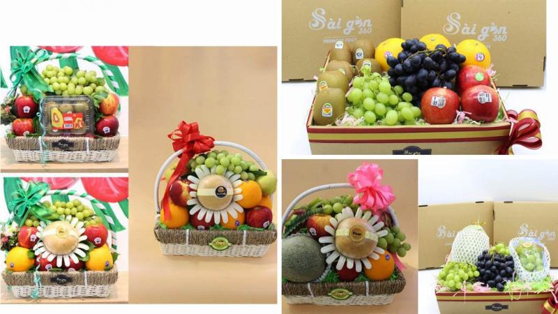 Top 9 địa điểm mua giỏ trái cây Tết được lựa chọn nhiều nhất tại Sài Gòn