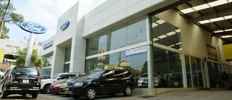 Hình ảnh showroom Sài Gòn Ford - Cao Thắng.