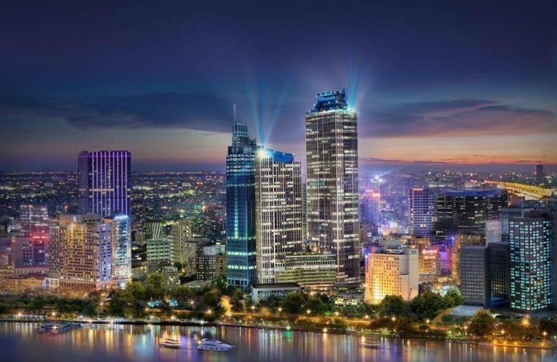 Phối cảnh cuaqr dự án Sài Gòn Mê Linh Tower.