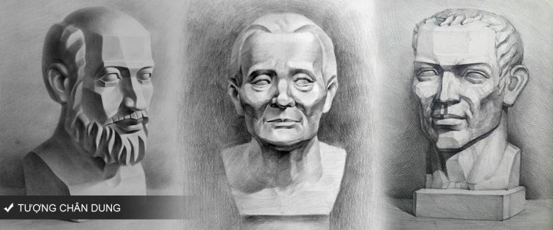 Vẽ đầu tượng