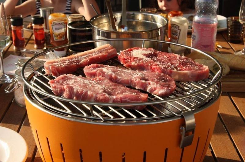 Để tránh sai lầm khi nấu ăn cần nướng thịt trên vỉ nướng