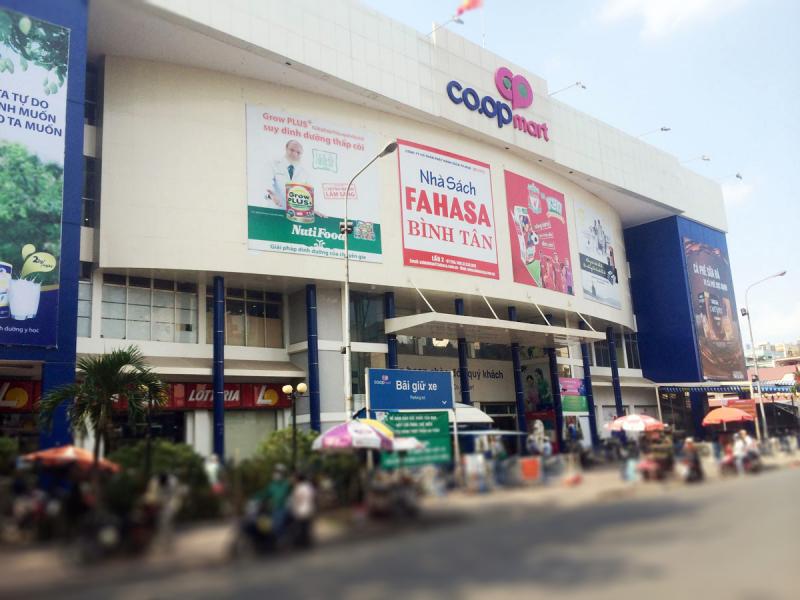 Chuỗi siêu thị Co.op Mart trực thuộc Saigon Co.op