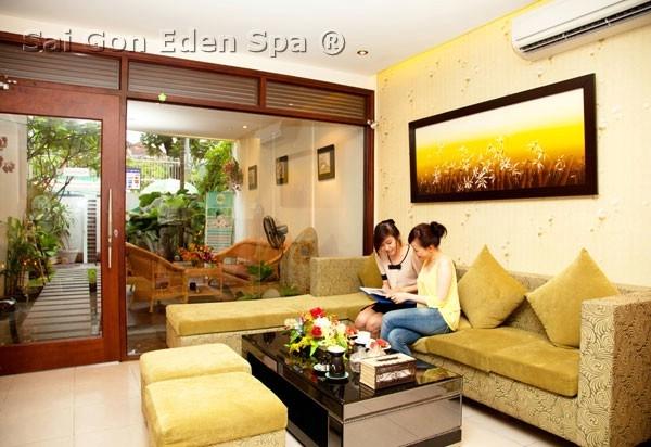 Saigon Eden Spa Viện chăm sóc da chuyên nghiệp, nơi làm đẹp, thư giãn