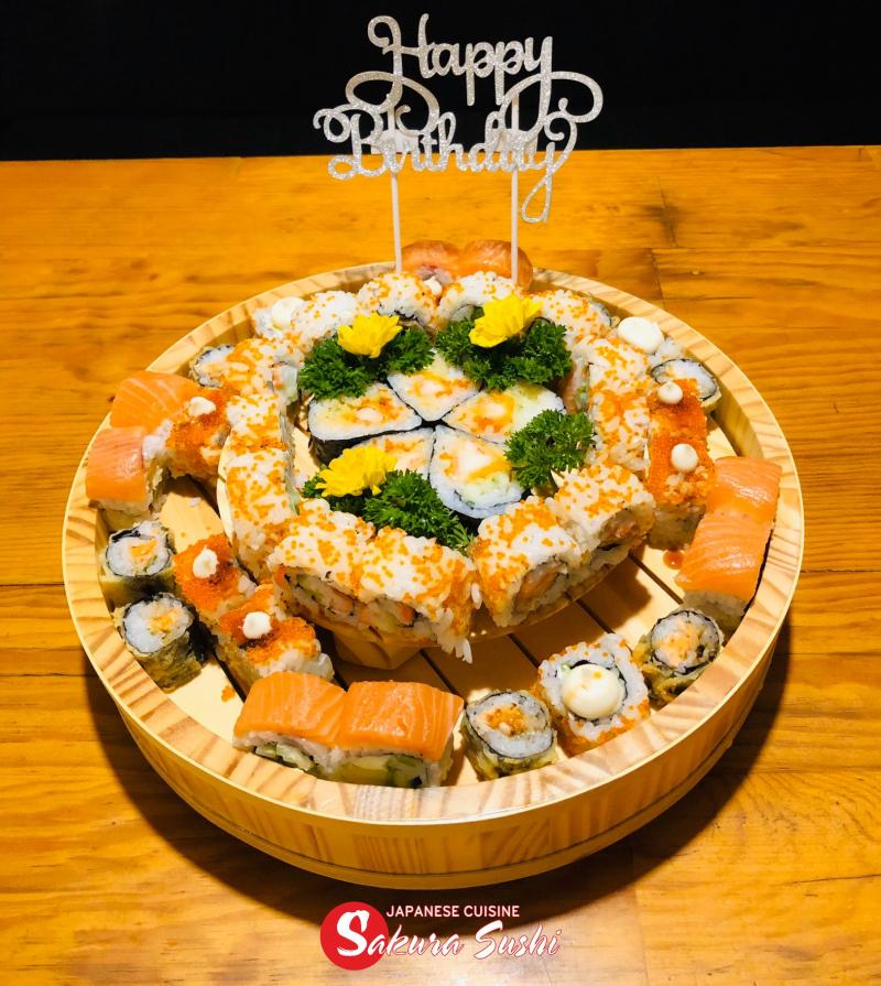 Sakura Sushi Nha Trang Japanese cuisine