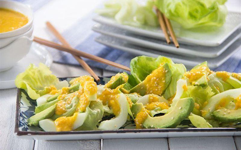 Salad bơ xanh dưa leo