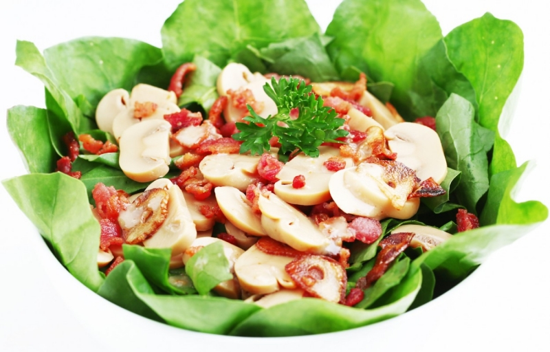 salad bó xôi