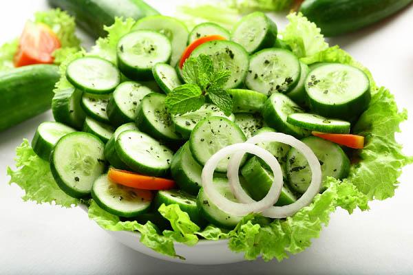 Salad dưa chuột muối