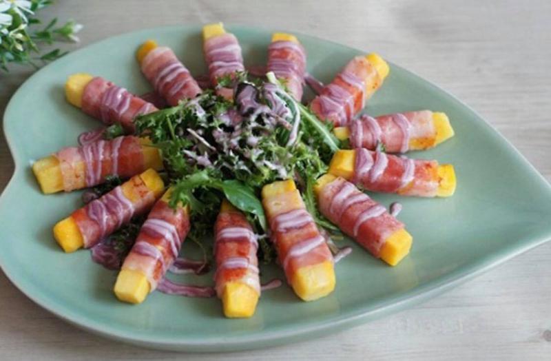 Salad khoai lang