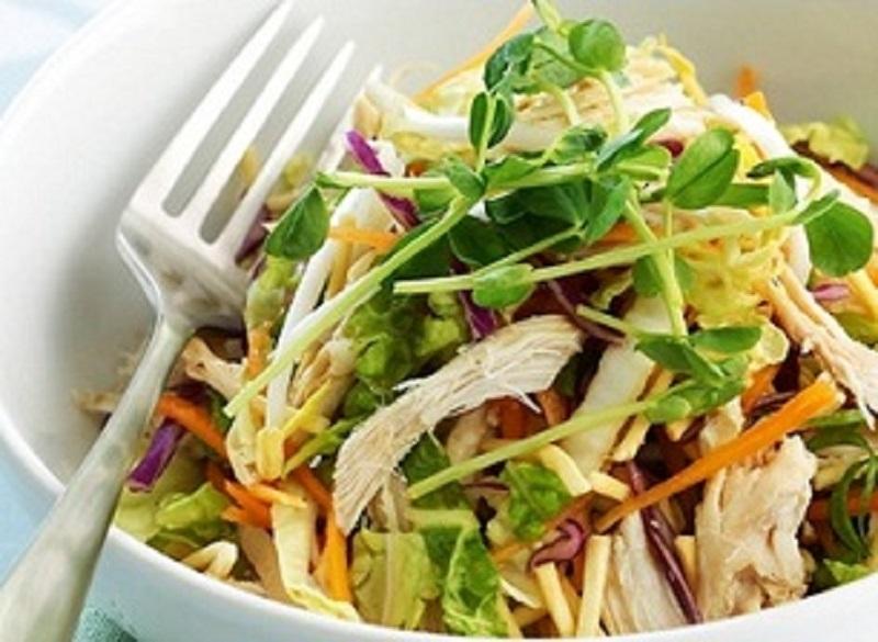 salad thịt gà