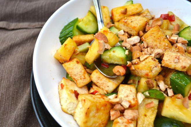 Salad trộn rau quả