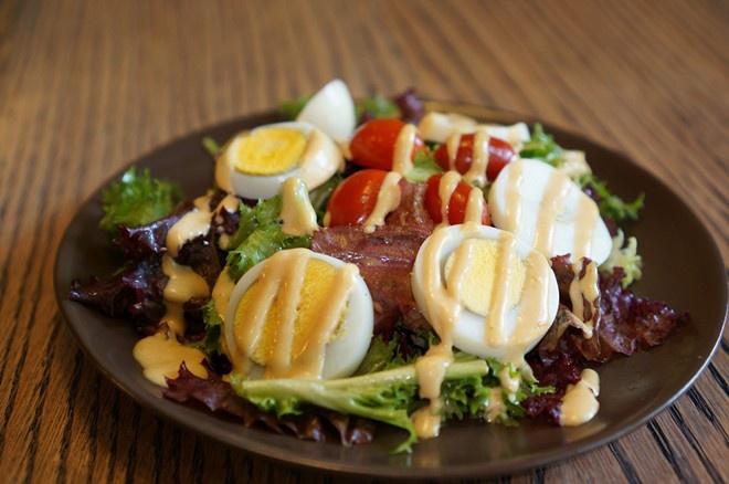 Salad trứng cút