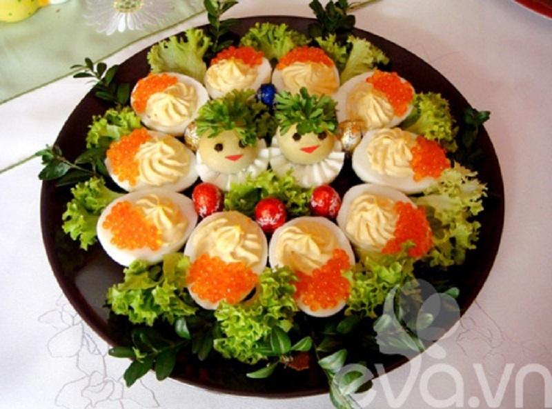 salad trứng gà